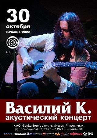 30 октября 2016 г. - Василий К. Акустика