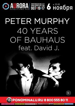06 ноября 2018 г. - PETER MURPHY